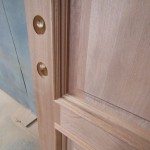 Detail Sapele Door