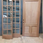 Door and sidelites