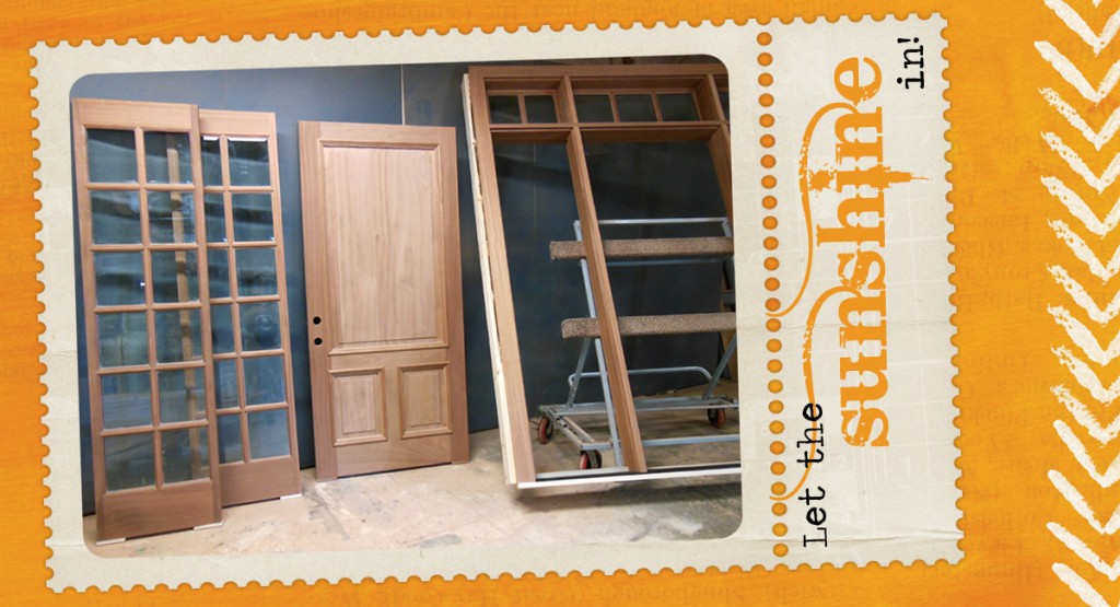 Sapele Door Unit